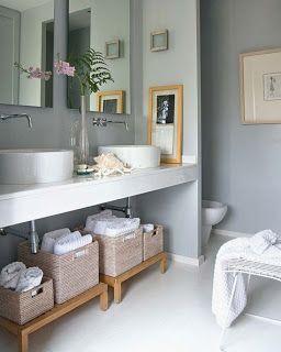 Decoração para Banheiros: Móveis ~ Arte De Fazer   Decoração e Artesanato