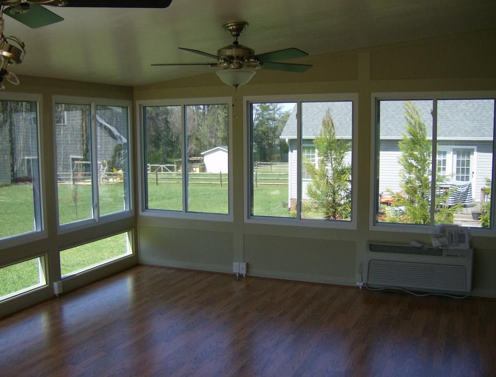 Trim Around Windows In Sunroom Pictures Description