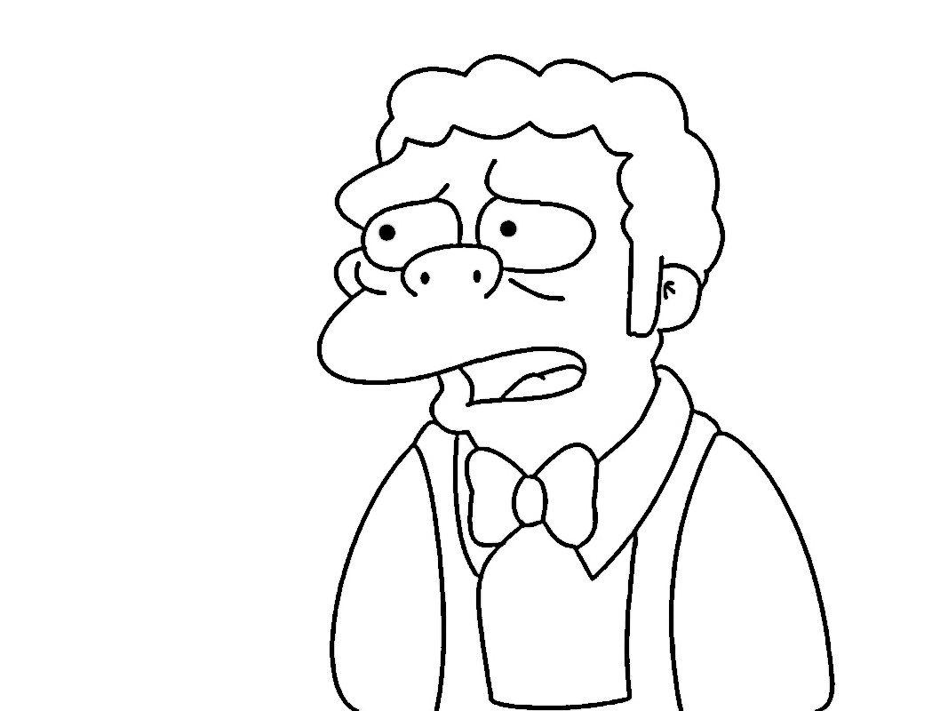 Dibujos para Colorear Los Simpsons 43 | Dibujos para colorear para ...