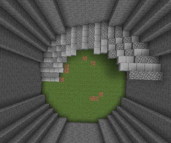 minecraft circle staircase Google Search Minecraft Minecraft