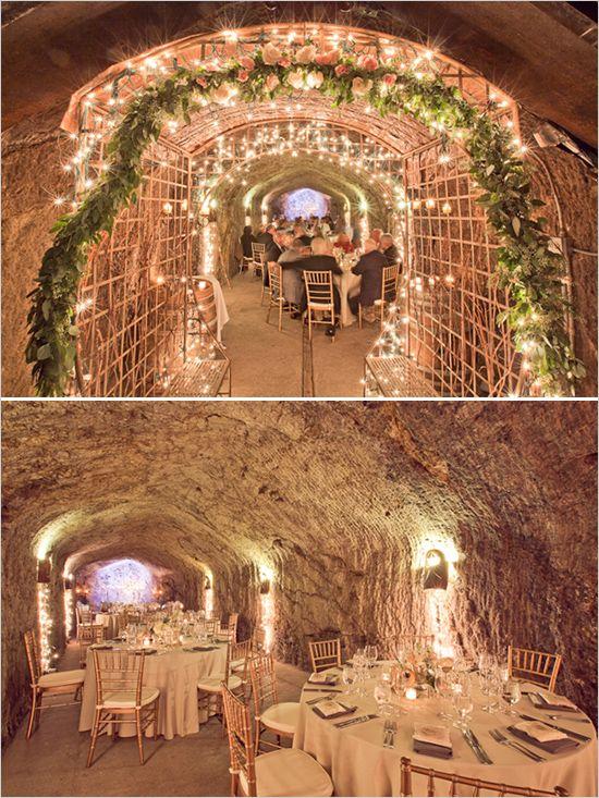 Hans Fahden Wine Cellar Wedding