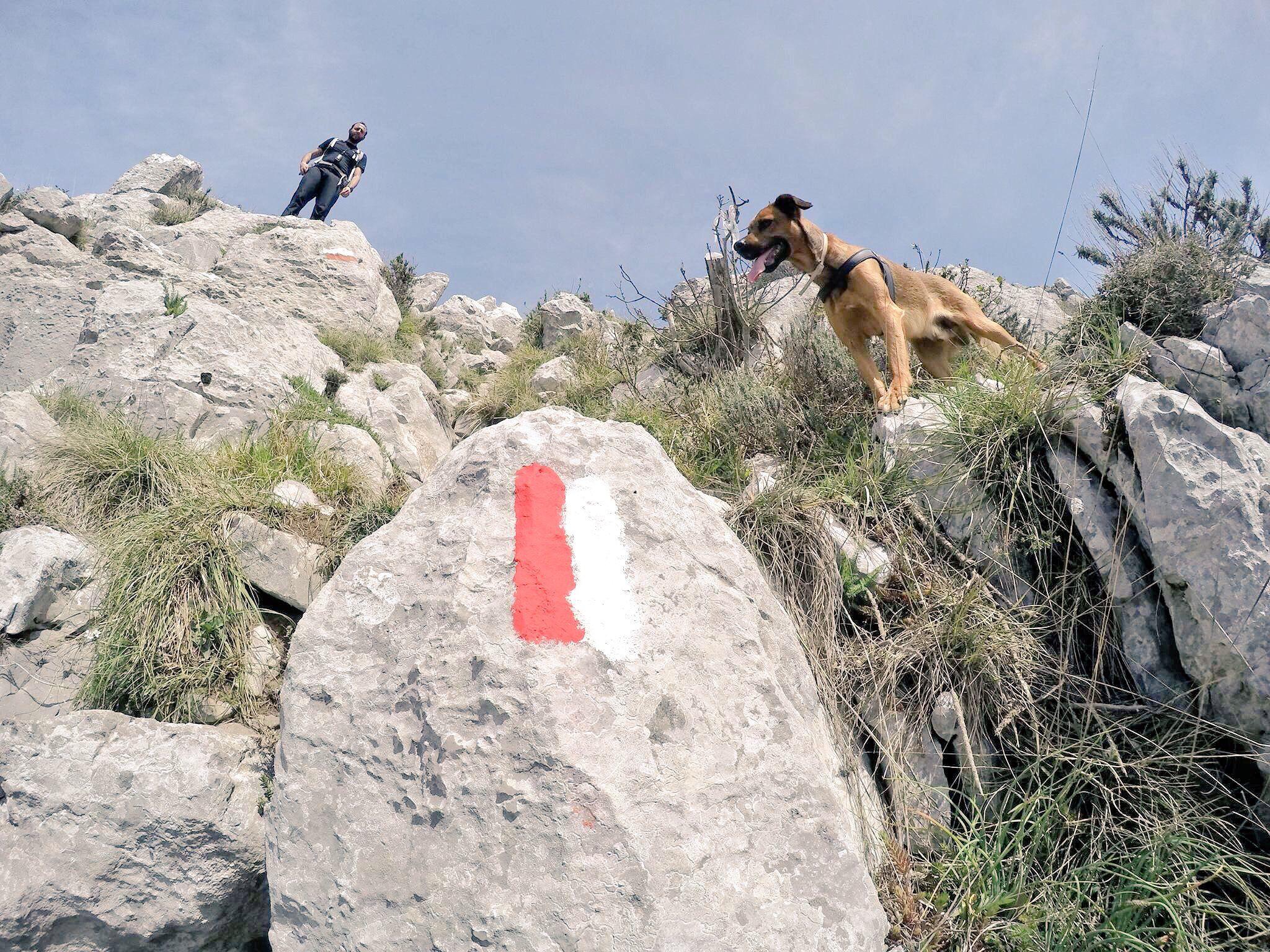 Trekking alta via dei monti Lattari