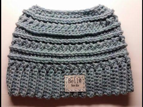Katniss Messy Bun Hat Pattern  f140a07e68b