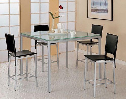 Glass Kitchen Tables glass kitchen tables should always clean | furniture | pinterest