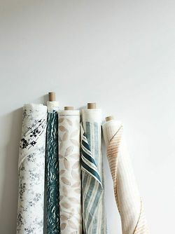 ruemag:  Our favorite textile designer is now offering fabric by the yard… jackpot!
