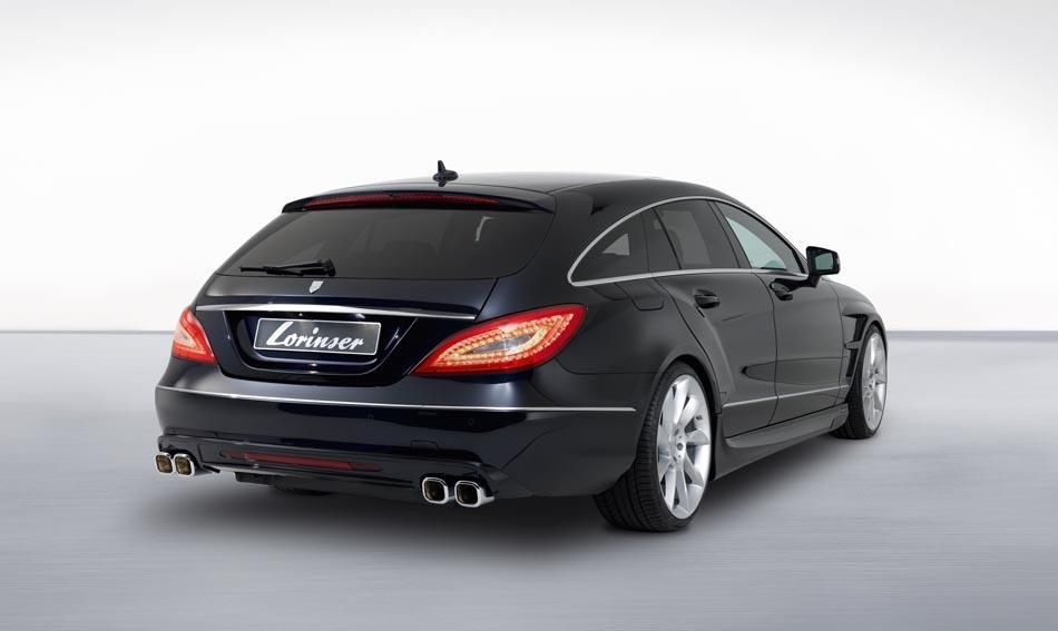 Lorinser Mercedes Cls Shooting Brake Revelaed With Images