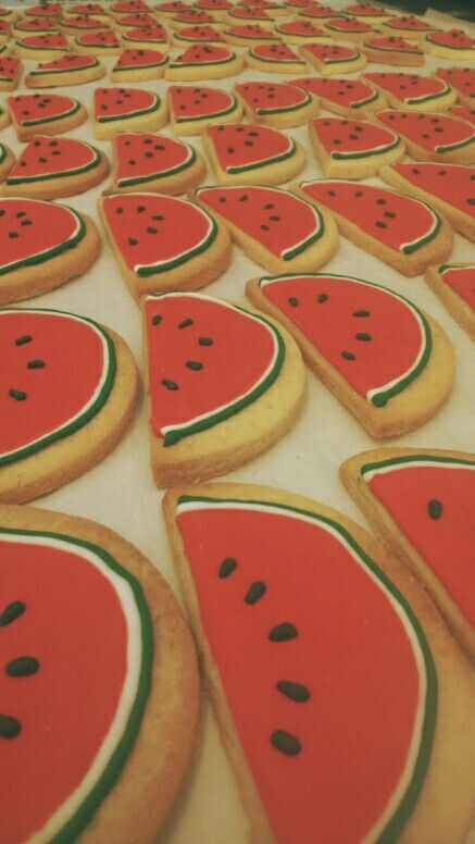 Water melon  icing cookies from #maisongermain  #nantes  #france
