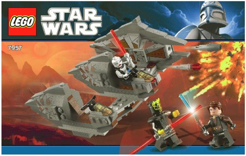 Star Wars - Sith Nightspeeder [Lego 7957] | Lego Instruction ...