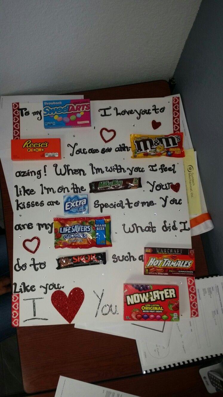 Something cute I did for my boyfriend 😁