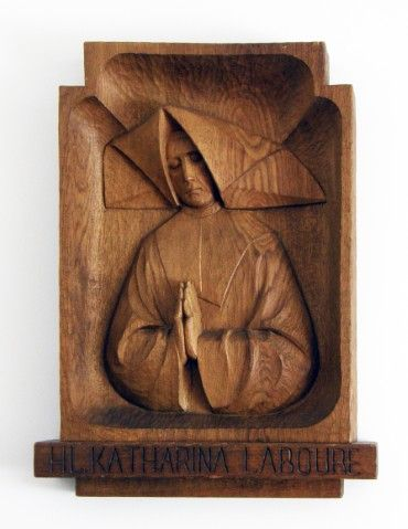 Wood carving, probably German; in CM house, Piliscsaba, Hungary