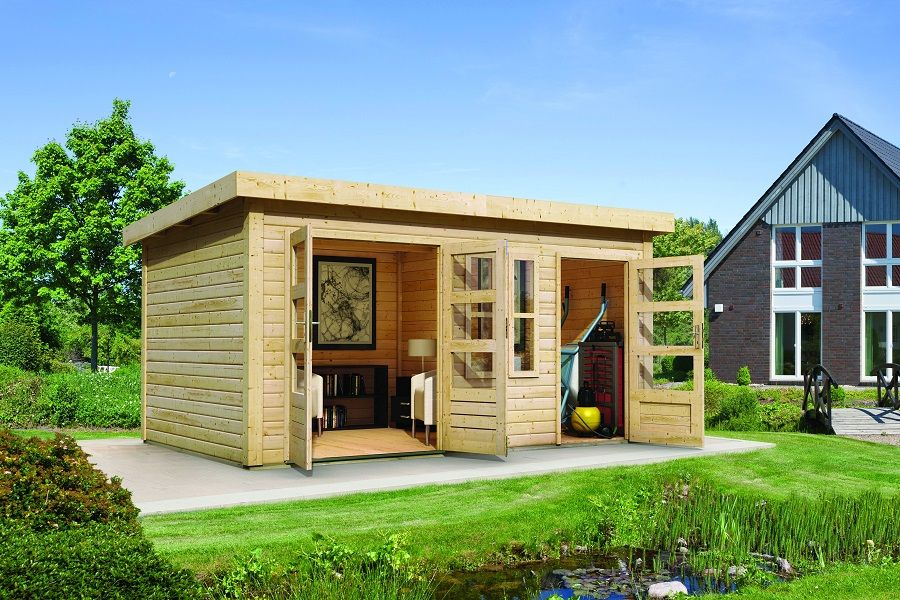 Woodfeeling Gartenhaus Schönbuch Gartenhaus Outdoor Structures