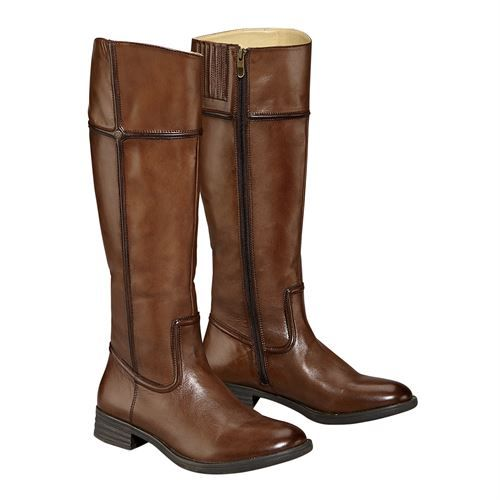 Beautifully crafted by Bussola®, this Middleburg™ Ladies' Outlander Boot  offers country style and comfort. This equestrian-inspired fashion boot  features a ...