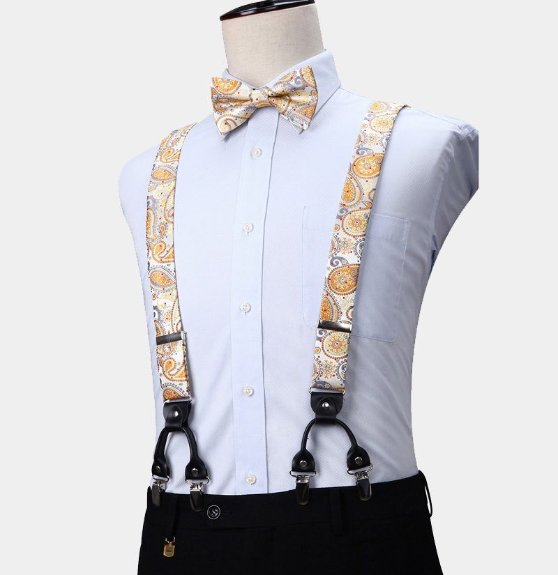 New Brand Q men/'s pre-tied bow tie /& hankie paisley microfiber formal black teal