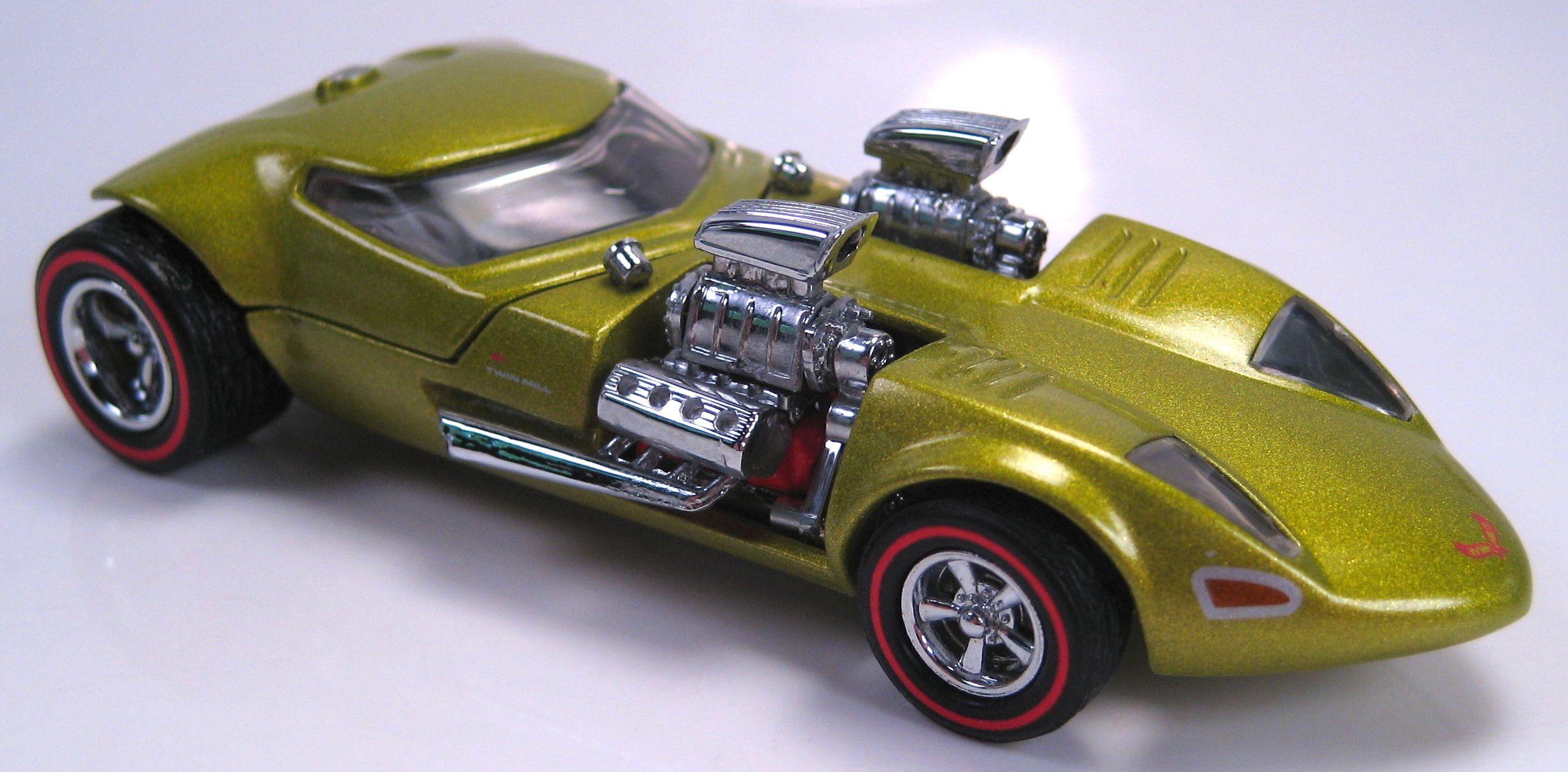 Mattel legends 1 24 1969 hot wheels twin mill concept car electronic - Twin Mill My Favorite Hot Wheels Car