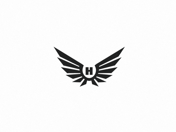 Black & White Logo Collection by Emir Ayouni, via Behance