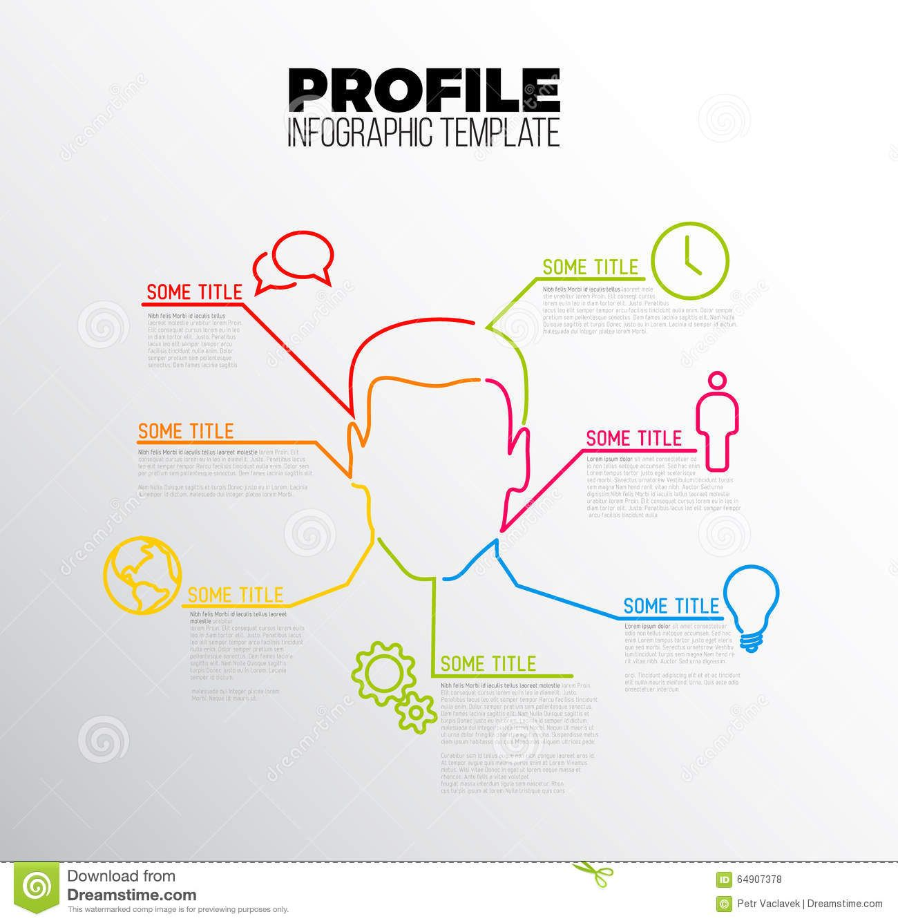 Image Result For Infographic User Profile Infographic Templates Infographic Templates