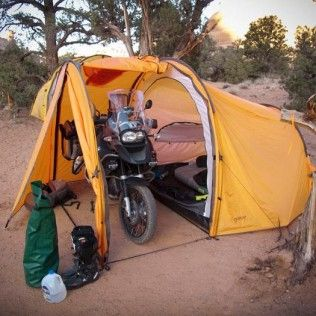 Nomad Motorcycle Tent | off road adventure | Pinterest | Tents ...