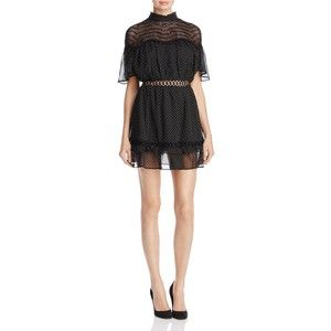 Talulah Swiss Dot Mini Dress