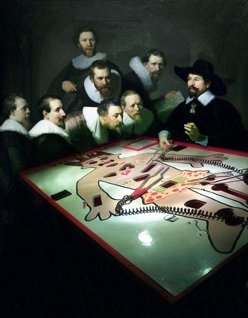 La lección de anatomía del Dr. Nicolaes Tulp\
