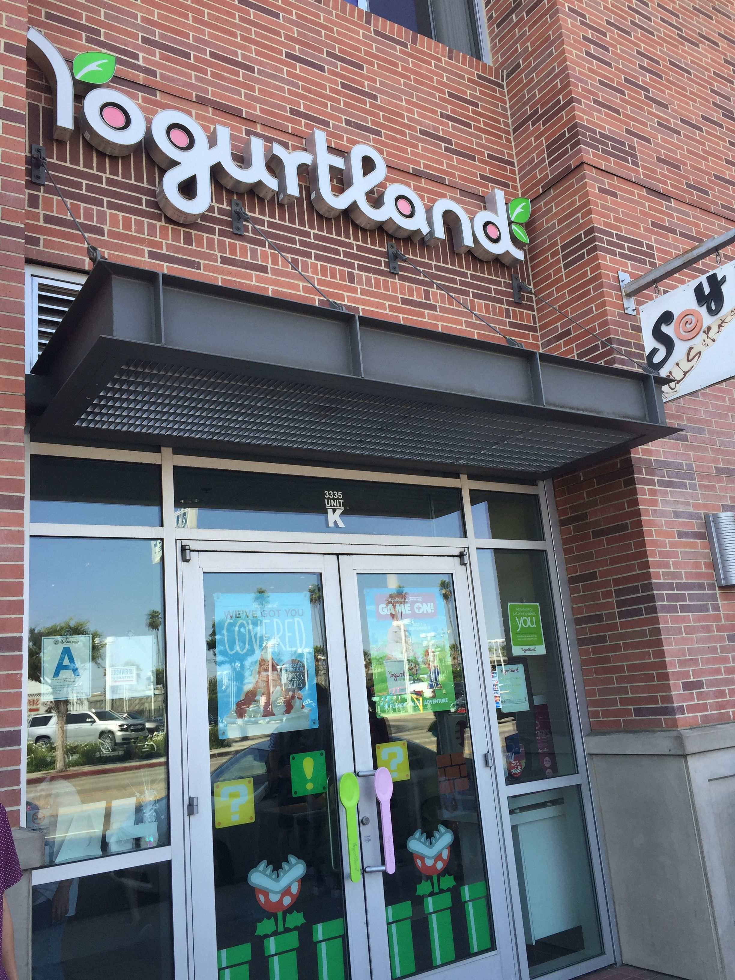 Yogurtland USC Gateway Village Los Angeles CA