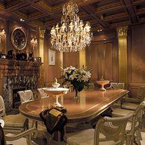 Dining table / Regency / oak / oval