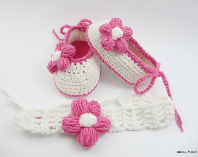 Zapatos de bebé de la muchacha, verano Bebé flor zapatos, botitas de ...