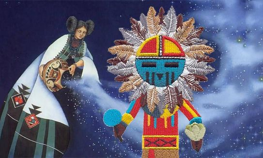 HOPI BLUE STAR KACHINA PROPHECY - THE BLUE STAR kACHINA IS ...