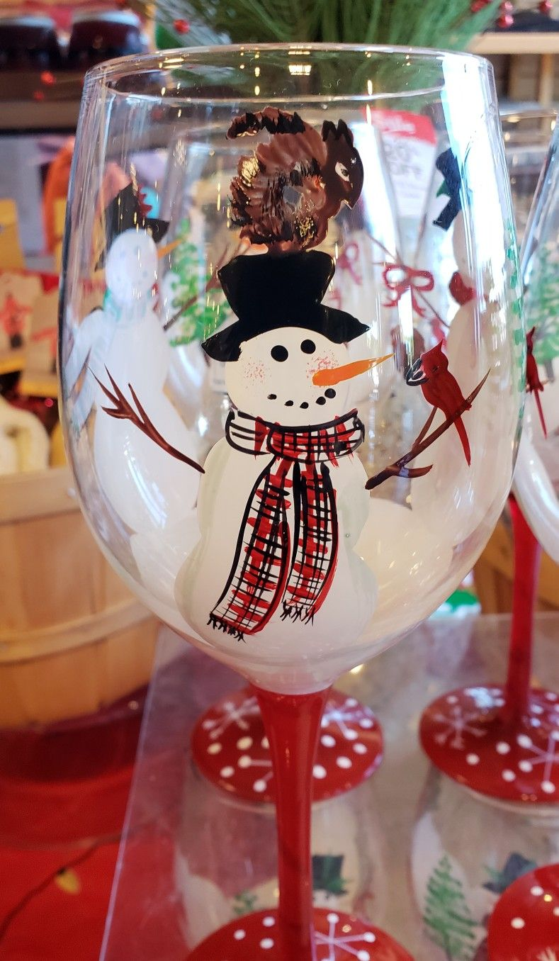 Pin By Brush Cork On Painted Wine Glasses Christmas Wine Glasses Diy Christmas Wine Glasses Wine Glass Crafts
