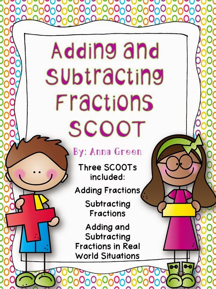 Adding and Subtracting Fractions with Unlike Denominators ...