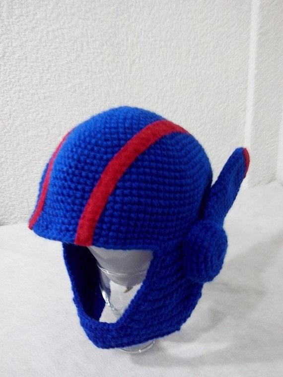 Super Cool Big Hero 6 hat, Hiro Hamada Helmet Inspired Knitted Hat