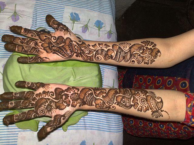Bridal Mehndi Designs For Hands Dailymotion : Bridal hands henna mehndi designs fashiontrendsinpk.com
