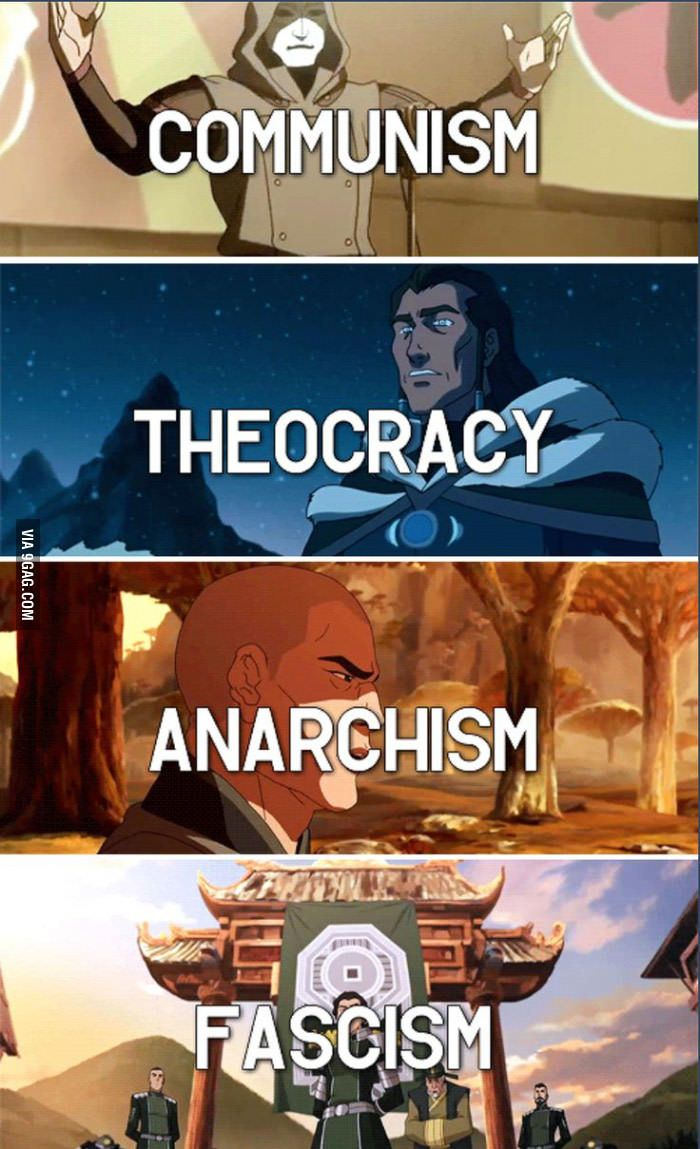 "Legend of Korra... Putting real-life politics in a ""kids ..."
