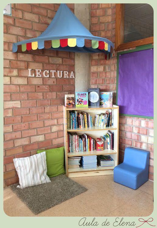 Rincón de lectura cosas para hacer Pinterest Montessori - rincon de lectura