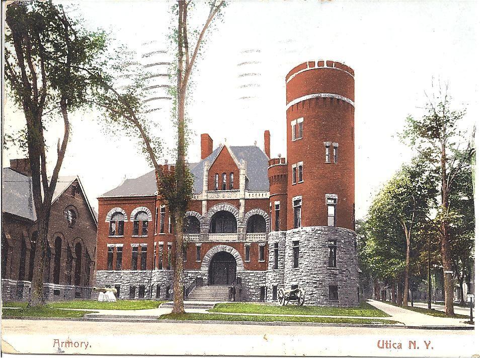 Armory, Utica NY (With images) Oneida county, Utica new