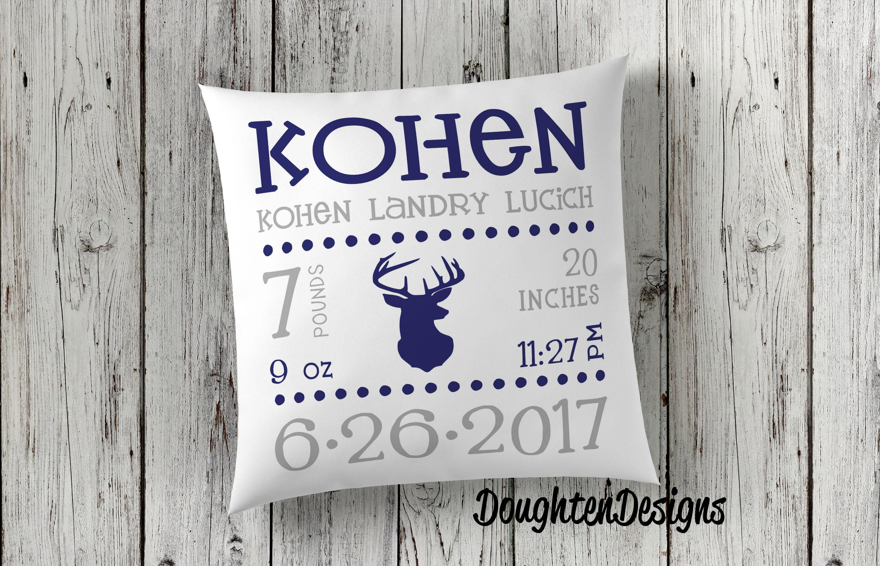 com stats personalized inc nevaland img pillows pillow product birth satiny