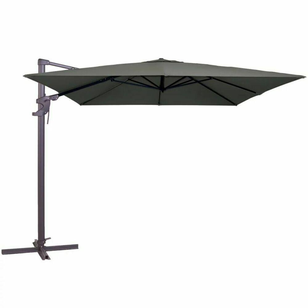 Ebay Sponsored Madison Parasol Monaco Flex 300x300 Cm Gris Carre Pare Soleil Jardin Terrasse Cantilever Parasol Freeport Park Patio Umbrellas