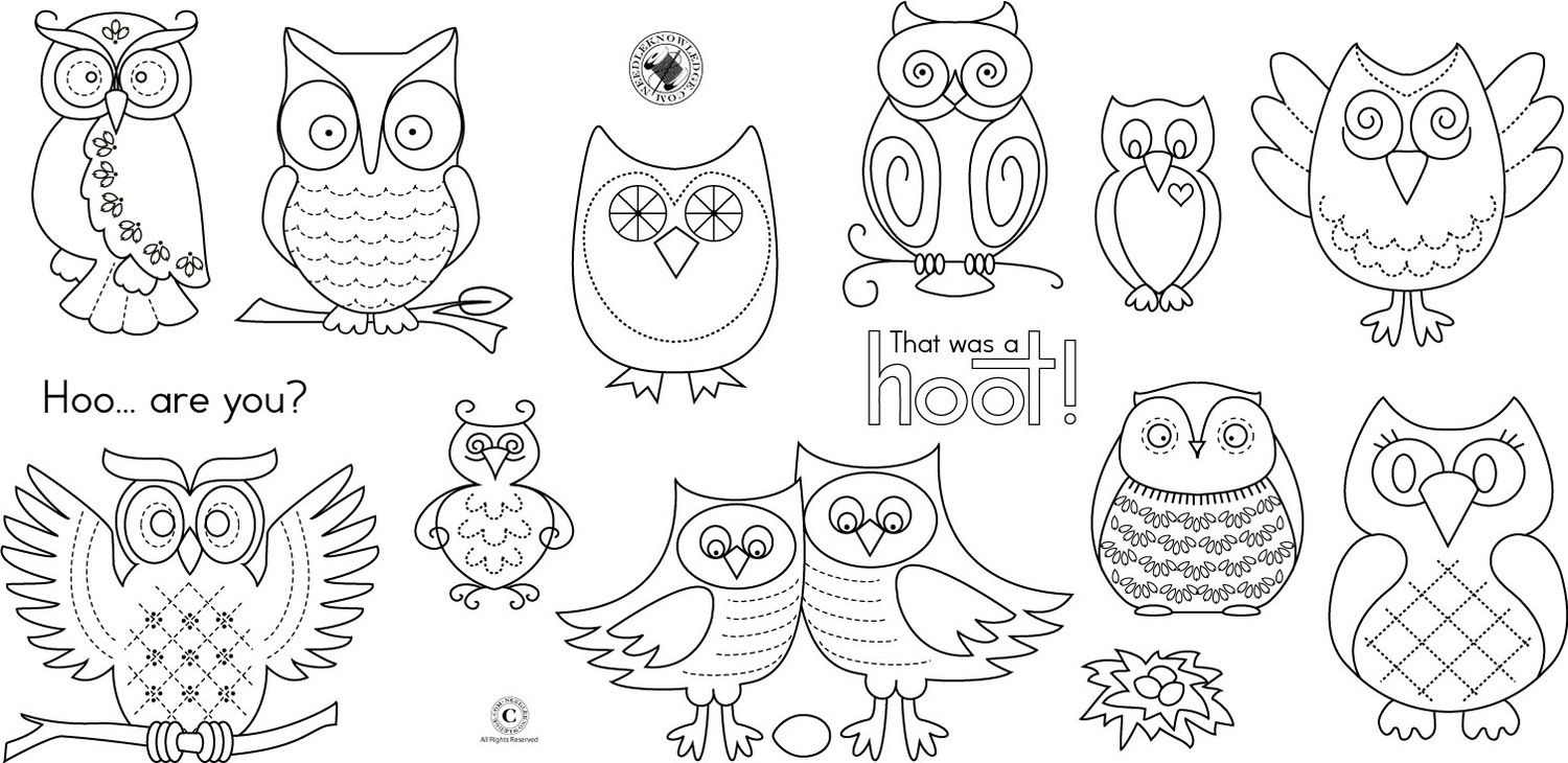 Moldes De Corujas  Owl Patterns Paper Owls And Printable Paper