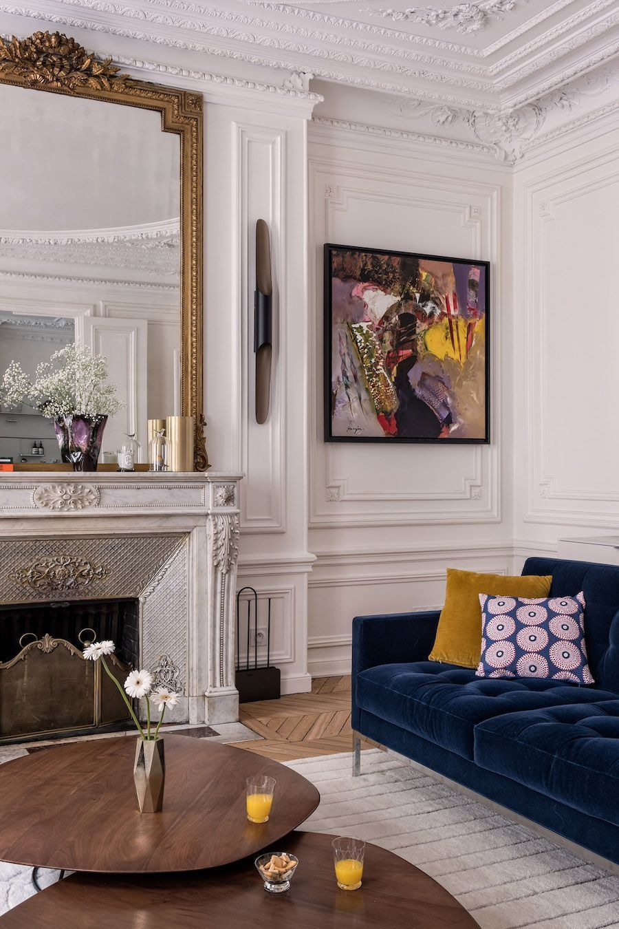 Photo of 59 Parisian Living Rooms to Make You Swoon