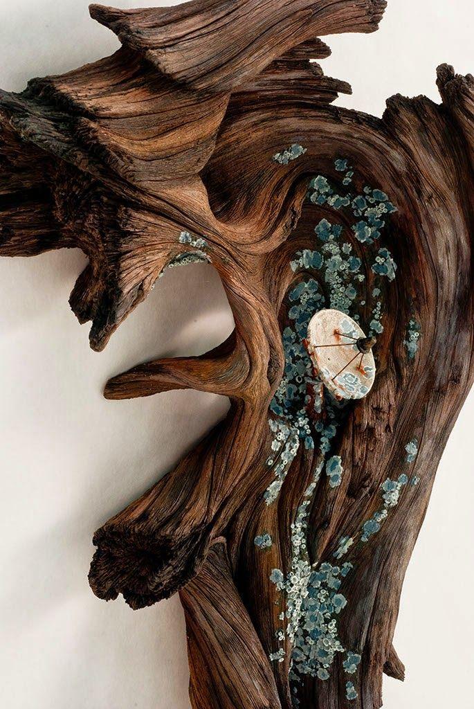 El Arte Con Madera Que No Es Madera De Christopher David White Sculture In Ceramica Scultura Scultura Di Legno