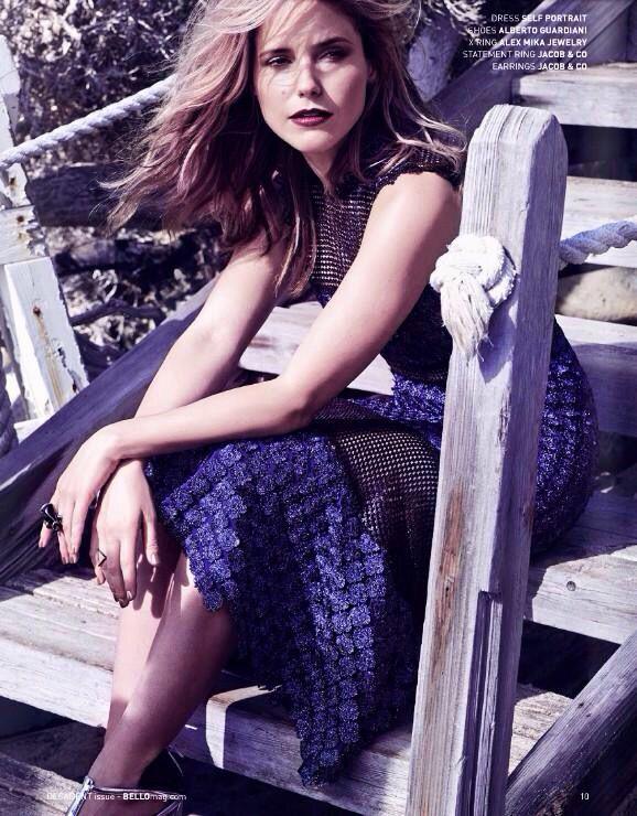 Sophia Bush for Bello Magazine
