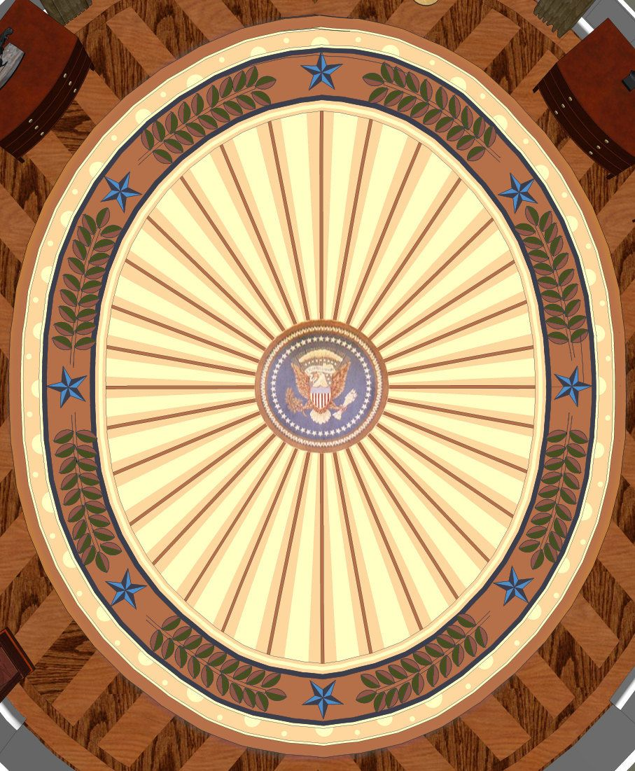 oval office rug. POTUS In The Oval: Who Did It Best? Bush 2 Rug Oval Office