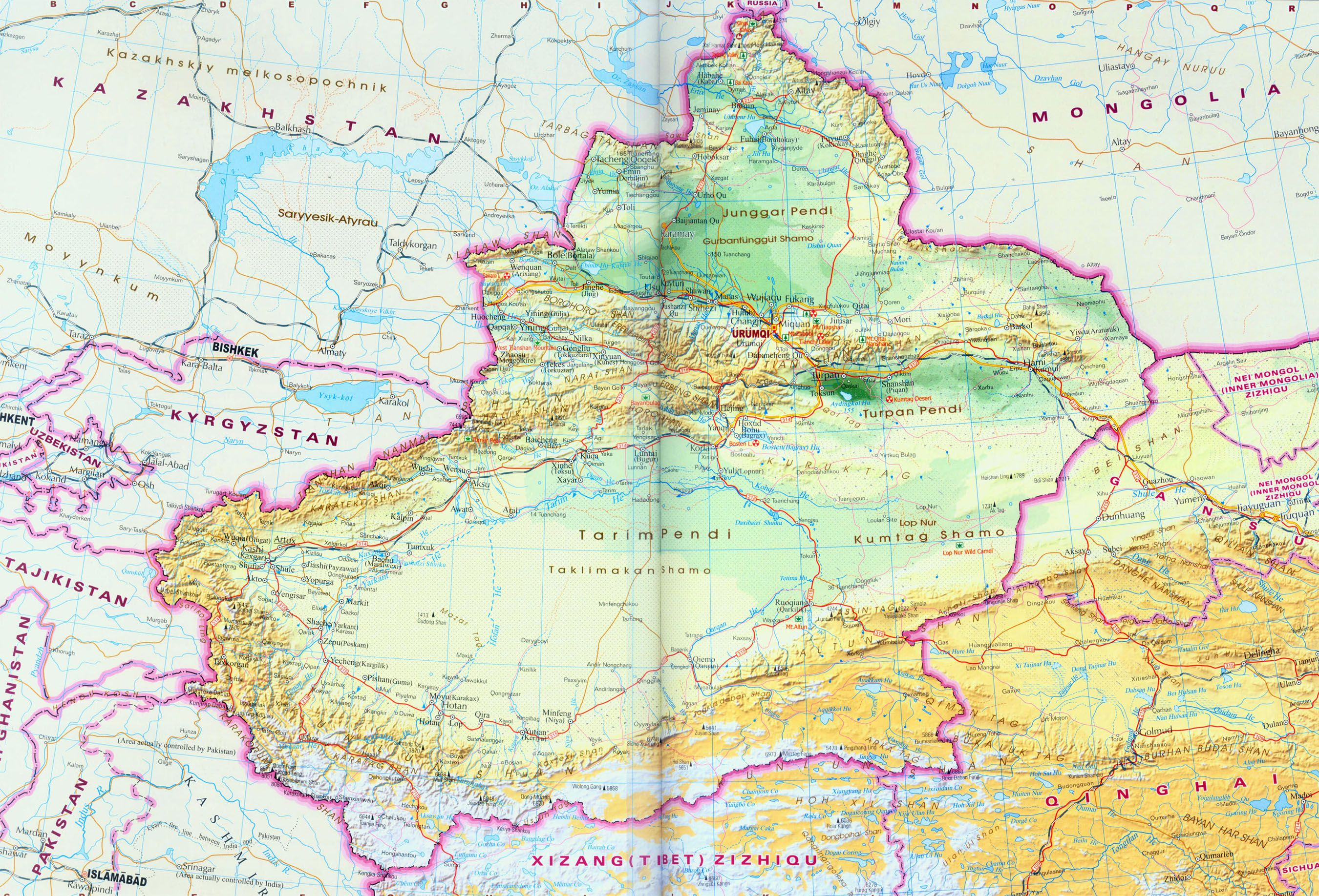 Map Xinjiang.Image Result For Map Of Xinjiang Province China Xinjiang China