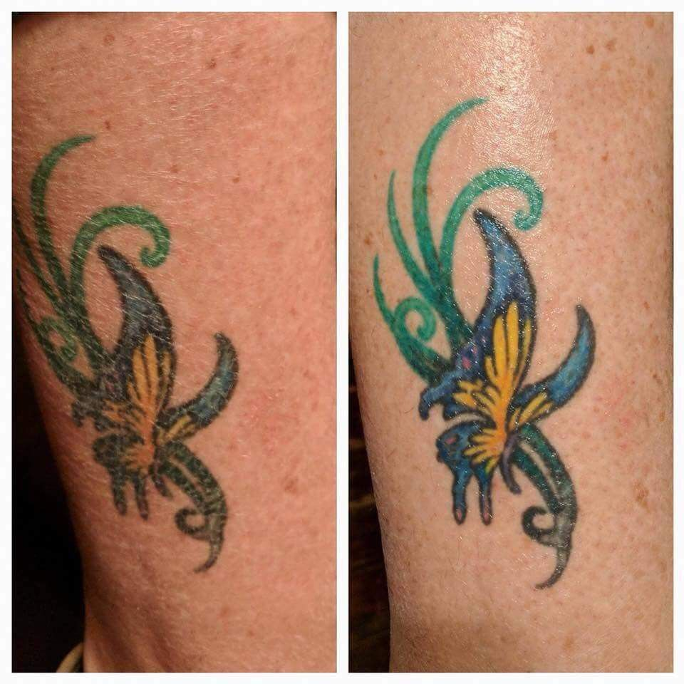 Have tattoos look at what one lotion can do to freshen