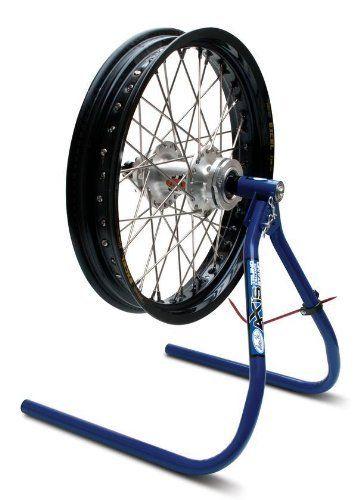 Work Shop Bench Garage Dirt Bike Motorcycle Wheel Balancer /& Tire Truing Stand