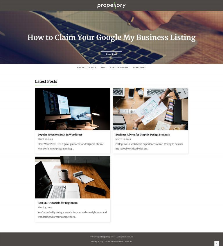 Propellory Lauren Dingus Creative Savannah Ga Web Design Website Design Inspiration Website Design