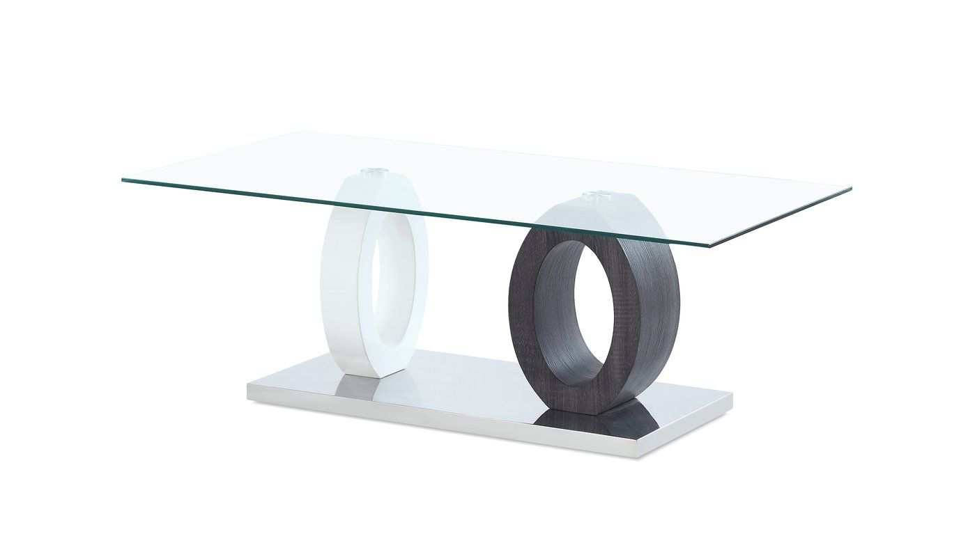 Best Discount Quality Spurlock Dual Oval Base Style Coffee Table By Orren Ellis Coffee Table Glass Top Coffee Table Coffee Table White [ 800 x 1389 Pixel ]
