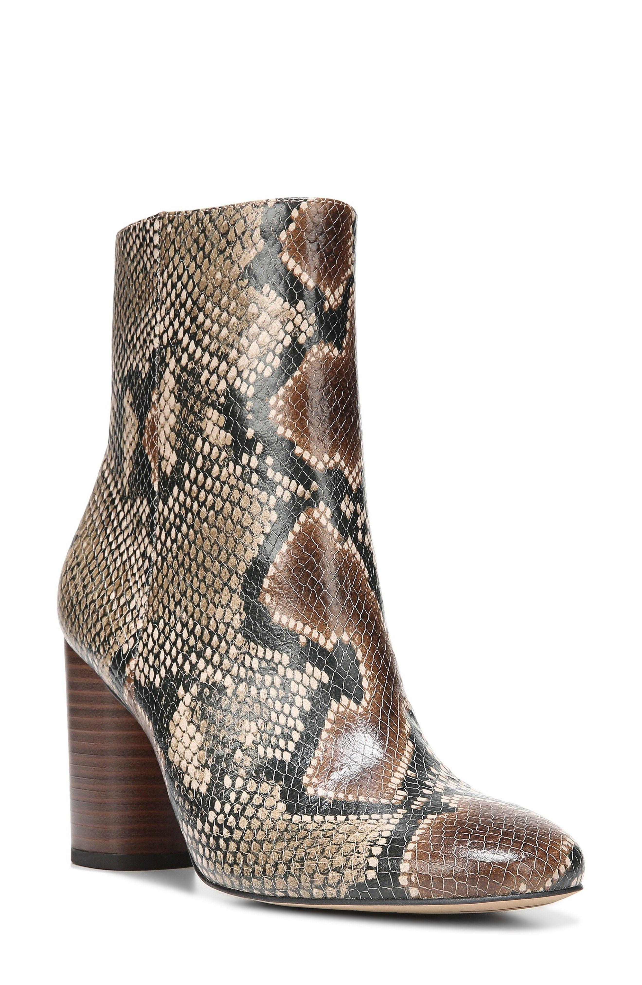 Sam Edelman Snake printed ankle boots Pkwl9