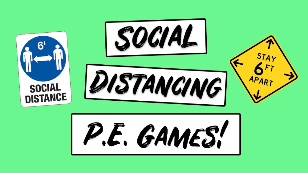 Social Distancing PE Games No Equipment PE Games in 2020