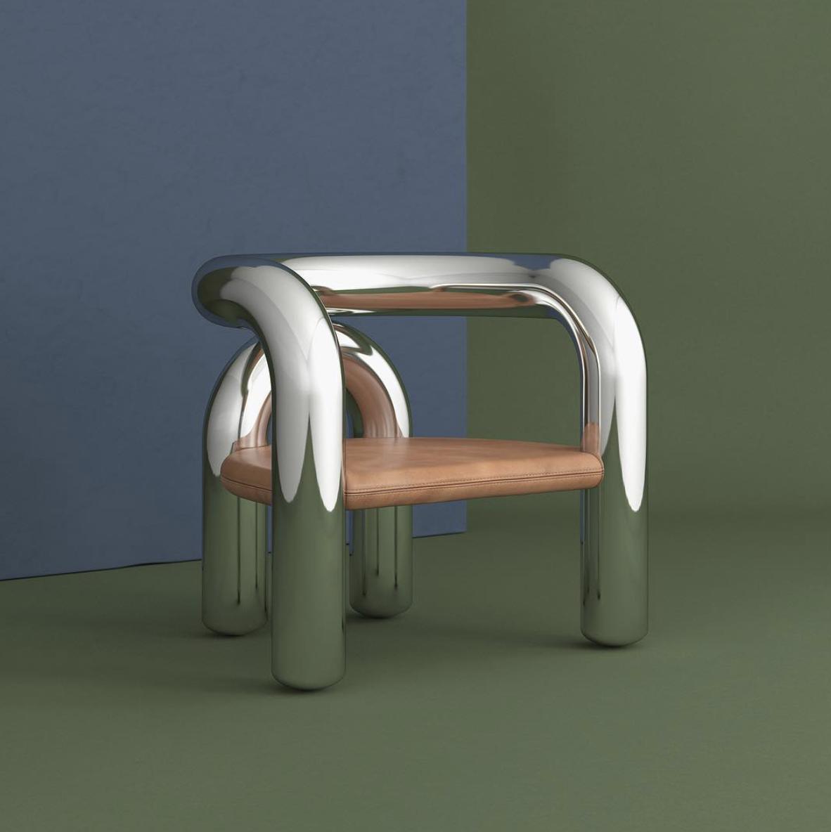 Chaise Neotenic Lounge Chaise Design Mobilier De Salon Meuble Unique
