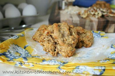 Kitchen Concoctions: Banana Nut Oatmeal Cookies